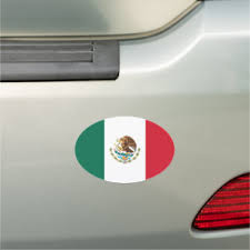 Mexico Country Flag Bumper Stickers Decals Car Magnets Zazzle