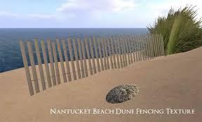 Second Life Marketplace Timber Creek Nantucket Beach Dune Fence Texture