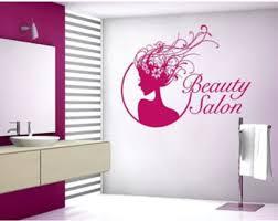 Beauty Salon Deco Wall Decal Sticker Mural Vinyl Wall Art