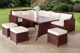 9 seat rattan sofa set wowcher