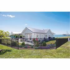 Guardian Aluminium Perimeter Panel Farm Fence Gate Mitre 10