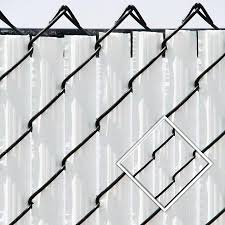 The Winged Vertical Slats Offers The Most Privacy For All Of The Available Slats For Heights Exceeding 8 Feet Chain Link Fence Privacy Chain Link Fence Fence