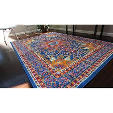 blue and red rug com
