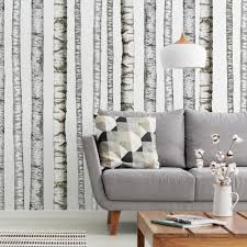 Realistic Birch Trees Peel And Stick Giant Wall Decals Roommates Decor