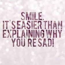smile quotes why you are sad smile explaining everything boom sumo