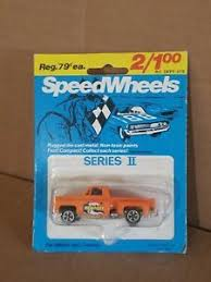 Chevy Pick Up Speed Wheels Series 2 Diecast Toy Newport Decal Orange Ebay