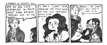 from kate beaton s wuthering heights part two heathcliff s