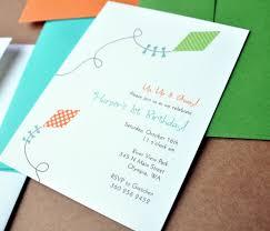 Kite Invitation Inspiration
