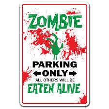 Zombie 3 Pack Of Vinyl Decal Stickers 5 Decoration For Laptop Car Walmart Com Walmart Com
