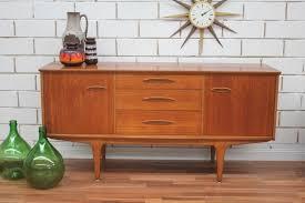 vintage retro teak sideboard buffet tv