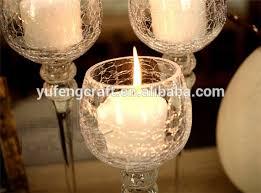 led snow glass goblet long stemmed