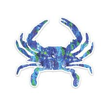 Crab Vinyl Decal Sticker Stockabl