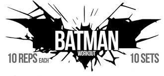the batman workout 9 exercises for a