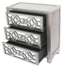 karratha 3 drawer accent chest