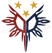 Philippines Sun And Stars Decal Decal Max