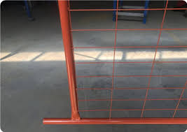 Temporary Fencing Panels 2100mm X 2400mm 28 Microns Pre Galvanized Base Clamps And Gate