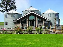 silos converted to houses non