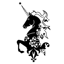 Unicorn Car Decal Laptop Decal Phone Decal Tumbler Decal Holographic Decal Unicorn Stencil Phone Decals Unicorn Pictures