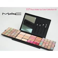 117 piece make up color collection kit