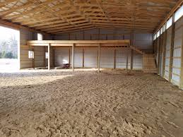 pole barn interior options milmar