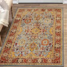 5x8 grey area rug oriental