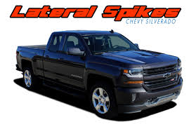 Lateral Spikes Silverado Stripes Silverado Decals Silverado Vinyl Graphics