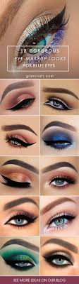 eye makeup looks for blue eyes