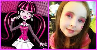 easy makeup for kids monster