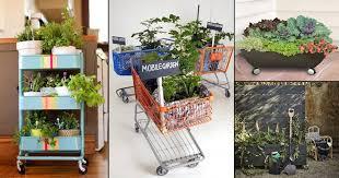 diy mobile garden ideas