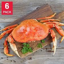 Northwest Fish 6 Whole Dungeness Crab ...