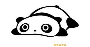Amazon Com Cute Panda Bear Japanese Jdm Vinyl Graphic Car Truck Windows Decor Decal Sticker Die Cut Vinyl Decal For Windows Cars Trucks Tool Boxes Laptops Macbook Virtually Any Hard Smooth