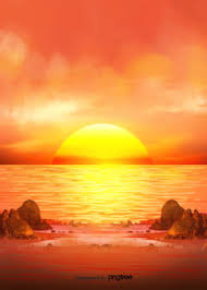 ocean background images sunset sun