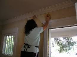 how to remove wallpaper glue the