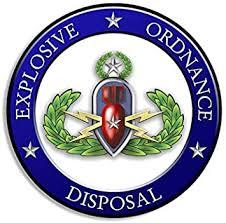 Amazon Com American Vinyl Round Eod Rank Master Explosive Ordnance Disposal Seal Sticker Automotive