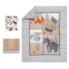 bedtime originals acorn woodland fox