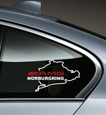 Product Amg Nurburgring Mercedes Benz C55 Clk E55 Cls63 Decal Sticker