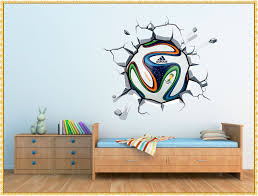 Soccer Wall Decals Design Strangetowne How To Decorate A Room For Child Soccer Wall Decals