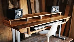 diy studio desk plans custom fit for