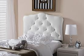 contemporary white faux leather