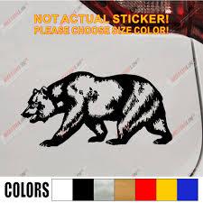 California Bear Decal Sticker Cali Car Vinyl Pick Size Color Californian Flag No Background Car Stickers Aliexpress