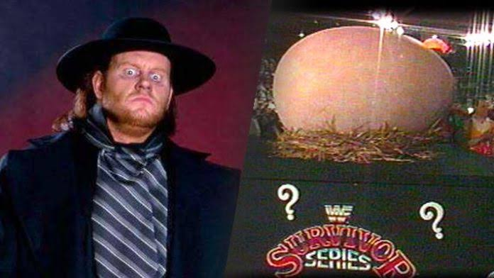 The Undertaker Feared That He'd Be 'Egg-Man' From WWE Survivor Series 1