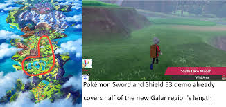 Galar region is a lot smaller than you might think. The Wild Area ...