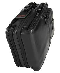 tumi alpha 2 organizer travel leather tote