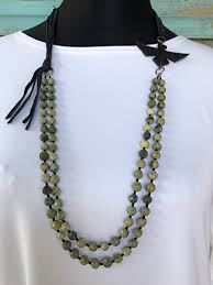 j forks 2 strand green turquoise and