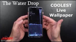 the water drop live wallpaper best