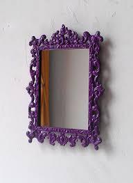regency wall mirror in small vintage