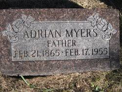 Adrian Myers (1865-1955) - Find A Grave Memorial