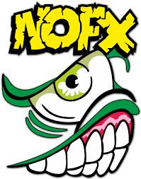 Sticker Nofx Punk Rock Logo Muraldecal Com