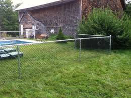 Chainlink Fence Welcome To Atlantic Fence Company Located In Durham Maine We Specialize In Wood Fence Chainlink Fence Vinyl Fence Aluminum Fence Pool Fence And Dog Fence We Serve The Brunswick