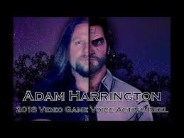 Adam Harrington 2018 Video Game Voice Acting Reel - YouTube